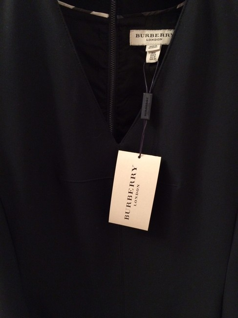 Burberry London New Leather Little Cocktail Tags Attached Dress