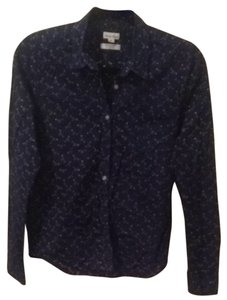 Steven Alan Button Down Shirt Navy