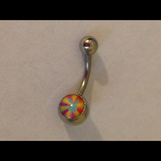 Other Multi-Color Playboy Bunny Belly Button Navel Ring