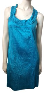 Calypso St. Barth short dress Blue on Tradesy