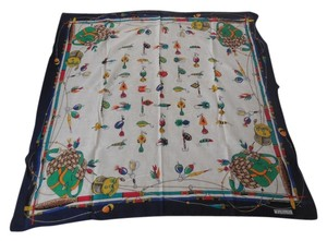 Talbots Talbots Cotton Fly Fishing Scarf