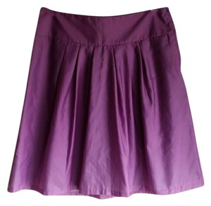 H&M Ombre Dip Dye Skirt Purple