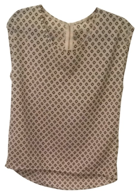 Paper Kite Top Black And White Ikat