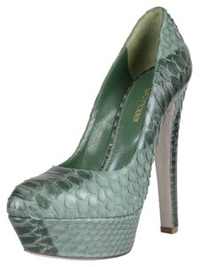 Sergio Rossi Green Pumps