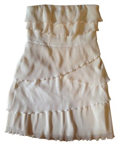 Pins and Needles short dress Cream on Tradesy