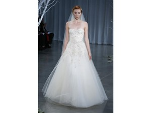 Monique Lhuillier Creme Brulee Wedding Dress