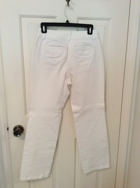 Talbots Waistband Sits Just Below Waist Fun Buttons On Waistband Straight Leg Jeans