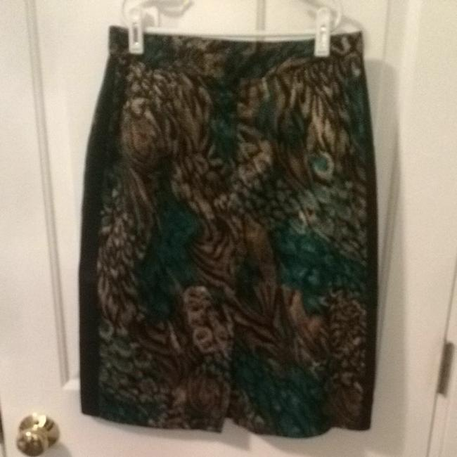 Other Skirt Teal/Gold/Black