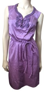 Calypso St. Barth short dress Purple on Tradesy