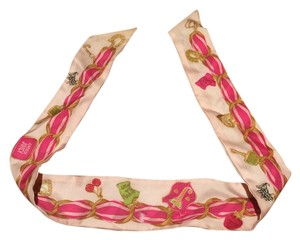 Juicy Couture Juicy Couture Pink Scarf
