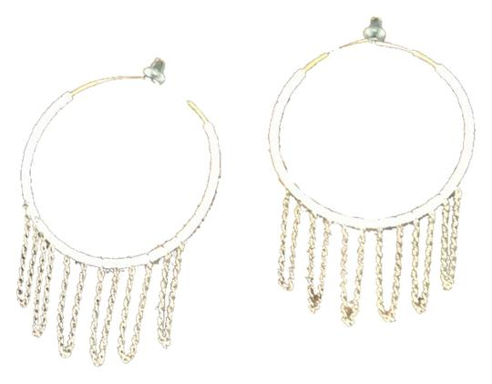 Preload https://item3.tradesy.com/images/zou-zou-boutique-white-hoop-earrings-with-gold-chain-detail-3571807-0-0.jpg?width=440&height=440
