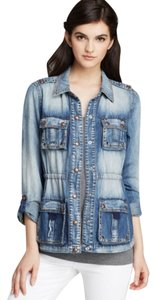 Guess Denim Denim 3 Wash Womens Jean Jacket