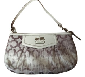 Coach Wristlet in Multi/White