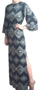 Diamond Mosaic Maxi Dress by Alice + Olivia C506544814 Mosaic Boho Bohemian Flowy