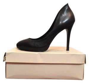 BCBGeneration Leather Black Pumps