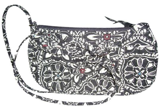 Preload https://img-static.tradesy.com/item/357337/vera-bradley-with-adjustable-strap-black-and-white-and-blue-and-red-satchel-0-0-540-540.jpg