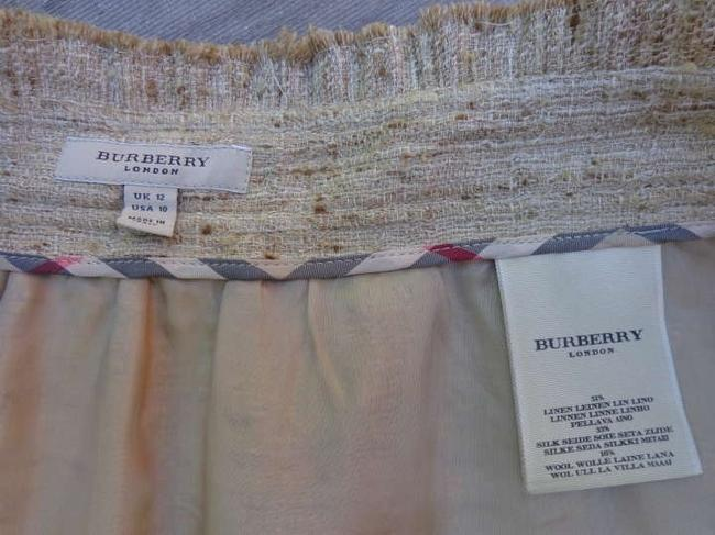 Burberry Skirt Beige