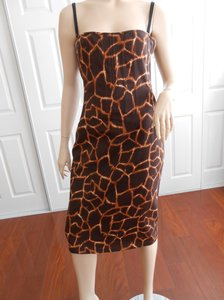 Dolce&Gabbana Italy Giraffe 44 8 Dress