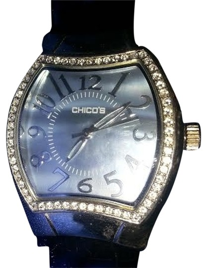 Preload https://img-static.tradesy.com/item/357525/chico-s-black-with-light-blue-face-watch-0-2-540-540.jpg
