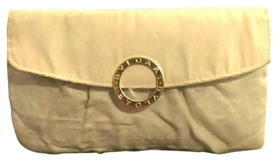 Preload https://item1.tradesy.com/images/bvlgari-cosmetic-ivory-ivory-fabric-clutch-3575335-0-0.jpg?width=440&height=440