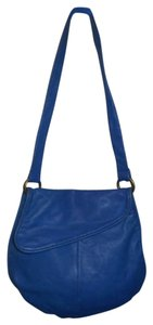 Bloomingdales Leather Shoulder Bag