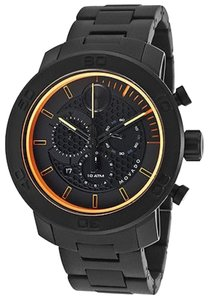 Movado Movado Bold Black Ion Titanium Chronograph Mens Watch 3600190