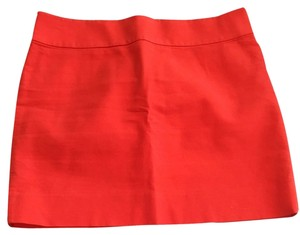 J.Crew Skirt Orange/red
