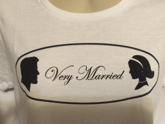 """ Very Married "" Ladies Large T-shirt (classic Style)"