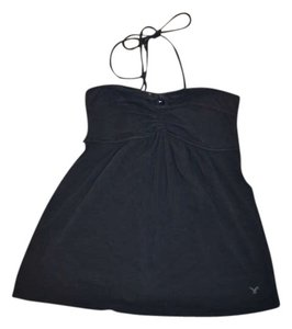 American Eagle Outfitters Black Halter Top