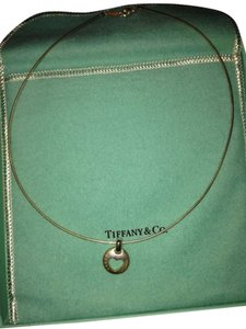 Tiffany & Co. Sterling Silver Heart Cut Out Necklace