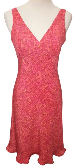 Red and yellow Maxi Dress by Express Pink Pink