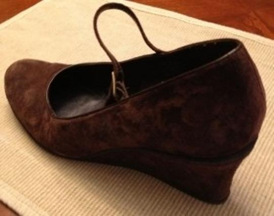 Chaps Brown Wedges
