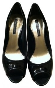 Bandolino Bd Gordona Black Patent Leather Pumps