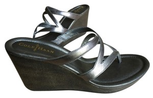 Cole Haan Gunsmoke Wedge Wedge gunmetal Wedges