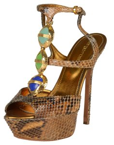 Sergio Rossi Multi-Color Sandals