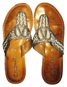 Coconuts Silver Sandals