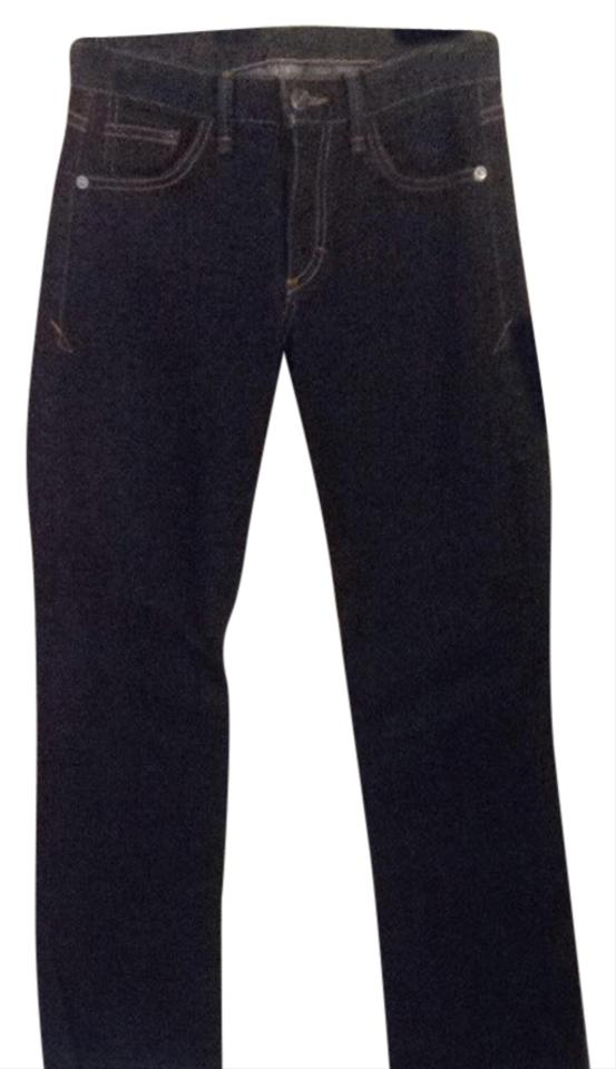 83b61ad4 Armani Jeans Dark Denim Blue Rinse Relaxed Fit Jeans Size 25 (2, XS) 76%  off retail