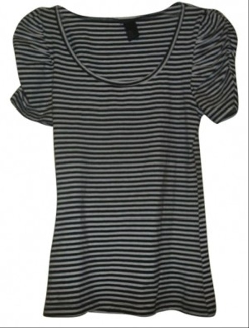 H&M T Shirt black strip