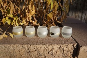 Candles 4 Less Frosted Glass 60 Holders Votive/Candle