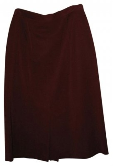 Preload https://img-static.tradesy.com/item/35845/saks-fifth-avenue-maroon-great-a-line-skirt-with-slit-in-front-and-back-knee-length-workoffice-dress-0-0-650-650.jpg