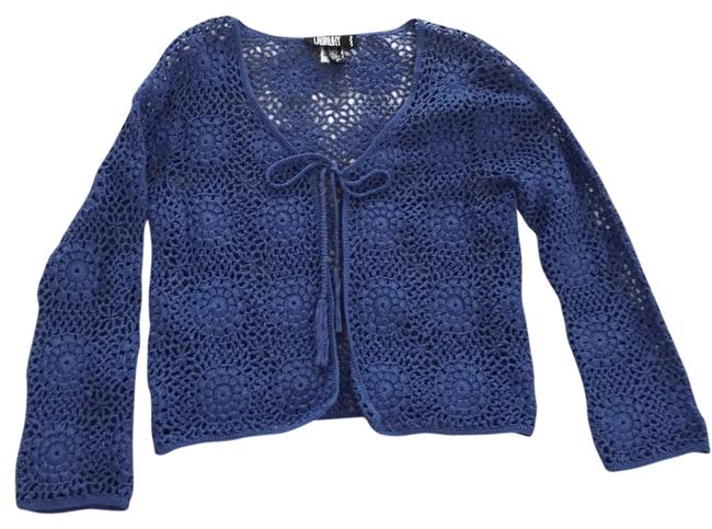 Preload https://item5.tradesy.com/images/laundry-by-shelli-segal-blue-sweaterpullover-size-2-xs-3585319-0-0.jpg?width=400&height=650