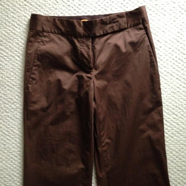 Tory Burch Flare Pants Brown Rust