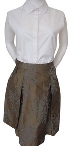 Other Flare Skirt Multi Brwn/Black/Ivory
