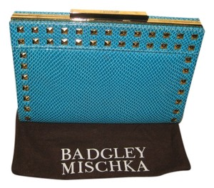 Badgley Mischka Turquoise Clutch