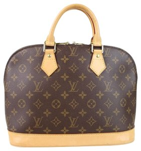 Louis Vuitton Alma Pm Handbag Satchel in monogram canvas