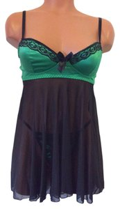 2 peice babydoll set Brand New Mesh Babydoll with Satin Padded