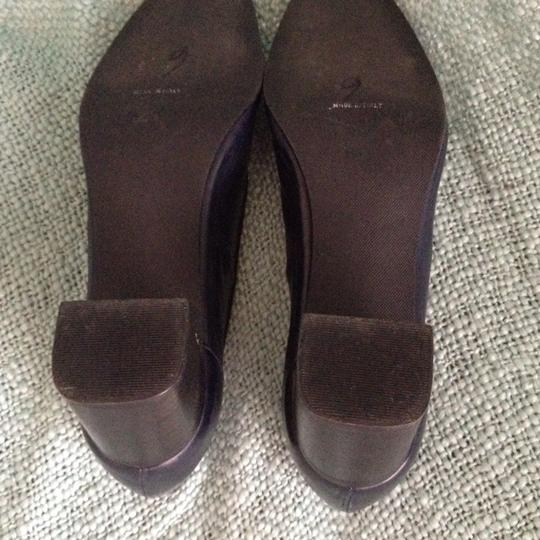 Rangoni Made In Italy Leather Navy Pumps