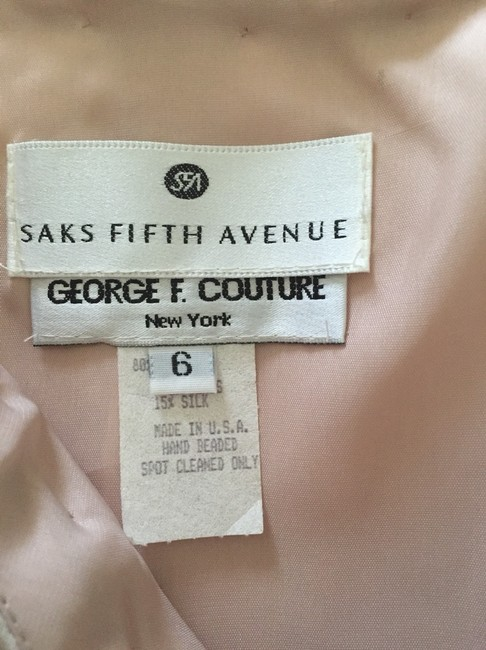 Vintage Saks Fifth Ave by George F.couture Dress