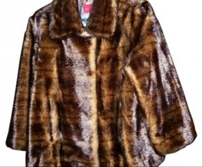 Preload https://img-static.tradesy.com/item/35880/illusion-by-sherry-cassin-brown-faux-mink-jacket-fur-coat-size-12-l-0-0-650-650.jpg