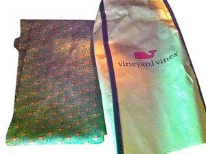 Vineyard Vines Vineyard Vines Sash/ Scarf or belt with print of mixed drinks and umbrellas